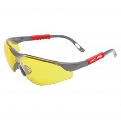 Okulary ochronne F UV PC żółte Lahti Pro 46051