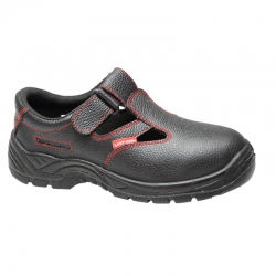 Sandały męskie skórzane bez podnoska Lahti Pro L30602