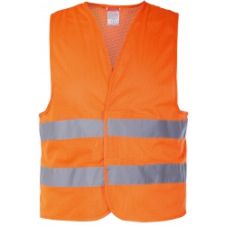 Mesh vests with reflective strips Lahti Pro L41306