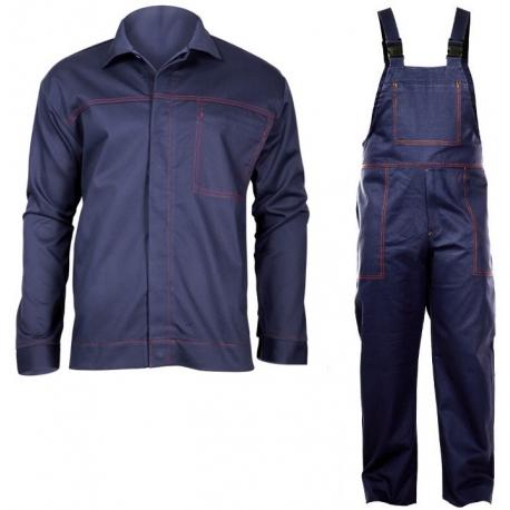 Odzież spawalnicza komplet bluza ogrodniczki Lahti Pro L41403