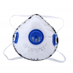 Maski przeciwpyłowe FFP1 z warstwą węgla aktywnego zaworek Lahti Pro L120090S