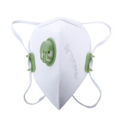 Dust masks foldable FFP3 with walve Lahti Pro L120080S
