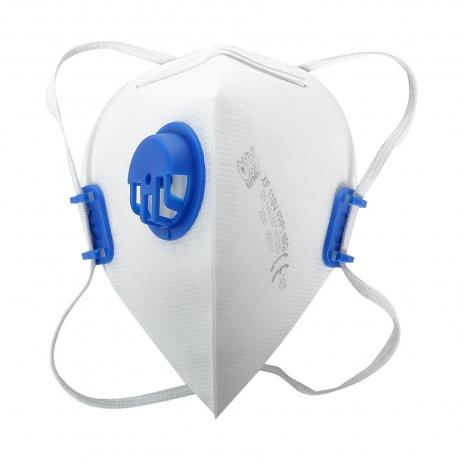 Dust masks foldable FFP1 with walve Lahti Pro L1200600