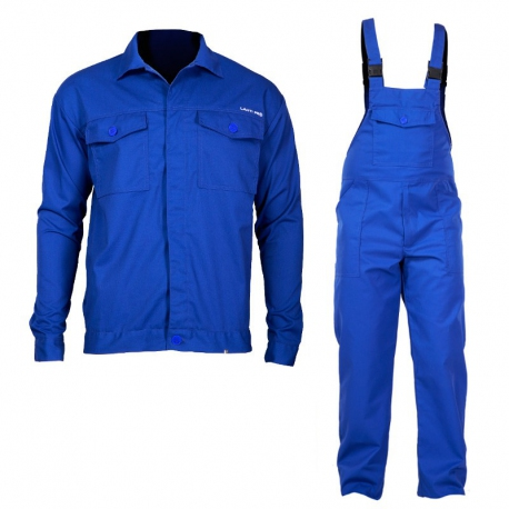 Ubranie antylektrostatyczne komplet bluza ogrodniczki Lahti Pro L41407