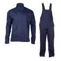 Ubranie spawalnicze wzmocnione rękawy komplet bluza ogrodniczki Lahti Pro L41406