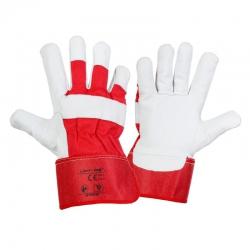 Rękawice robocze ochronne ze skóry koziej Lahti Pro L2709