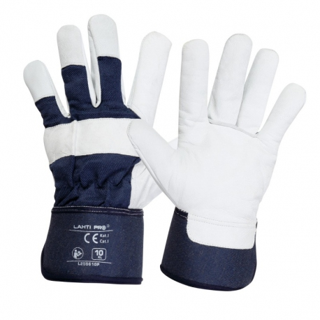 Goatskin Leather Thermal Protective Gloves Lahti Pro L2506