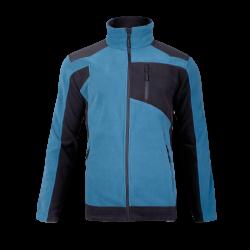 Bluza polarowa ze wzmocnieniami turkusowa Lahti Pro L40114