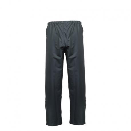 Spodnie przeciwdeszczowe PU zielone Lahti Pro L41011