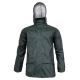 Green raincoat Lahti Pro L40918