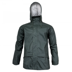 Green raincoat Lahti Pro L40918