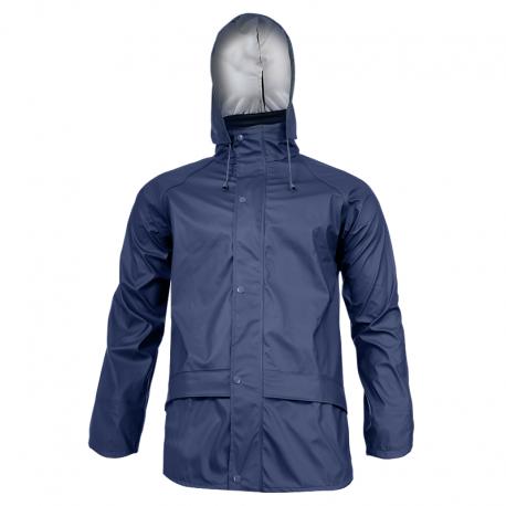 Blue raincoat Lahti Pro L40917