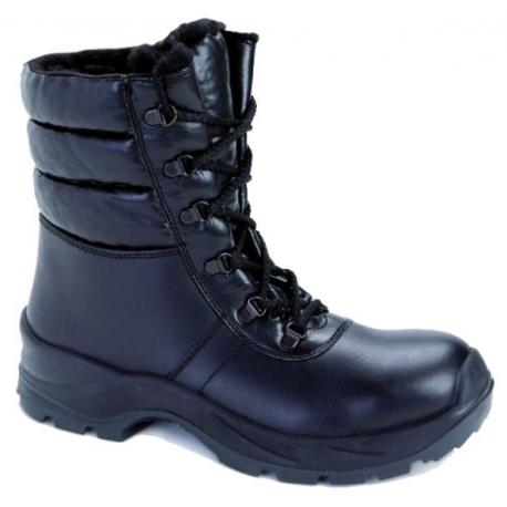 Buty zimowe, trzewiki robocze ocieplane skórzane Demar DTRMF