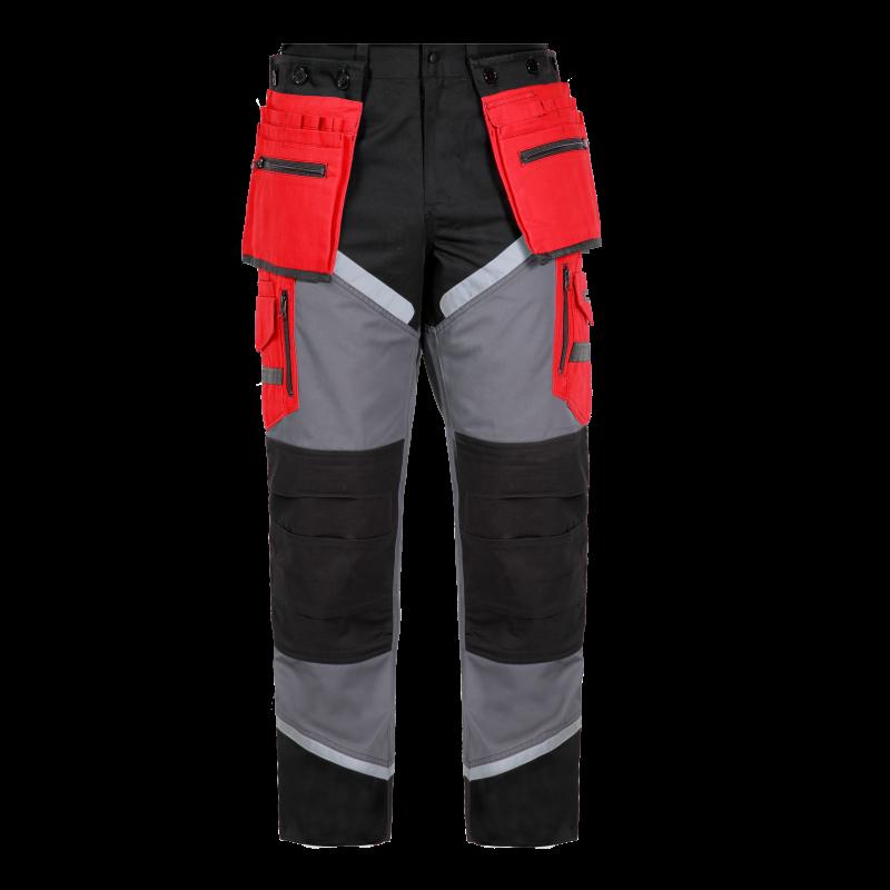 17da903dee16d Spodnie robocze monterskie do pasa ochronne Lahti Pro L40505