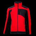 Bluza polarowa ze wzmocnieniami czerwona Lahti Pro L40115