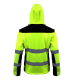 High-visibility soft-coating jackets with detachable sleeves Lahti Pro L40919