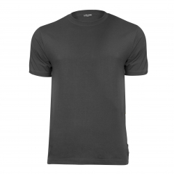 T-shirts dark gray 180g cotton Lahti Pro L40218