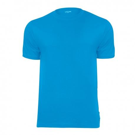 Koszulki t-shirt niebieskie 180g bawełniane Lahti Pro L40219
