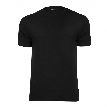 Koszulka t-shirt bawełniana czarna LahtiPro L40205 przód