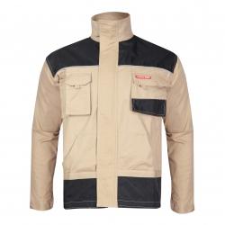 Bluza robocza ochronna męska beżowa wytrzymała Lahti Pro L40401