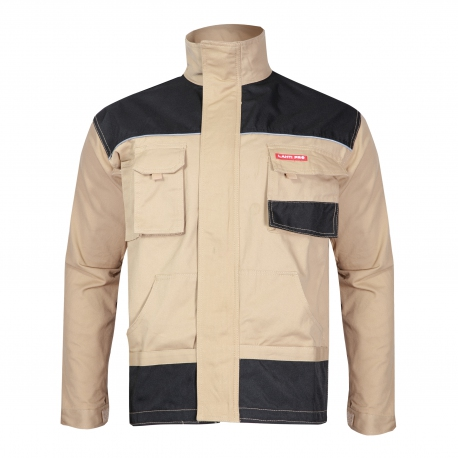 Sweatshirt Men's Beige durable protective Lahti Pro L40401