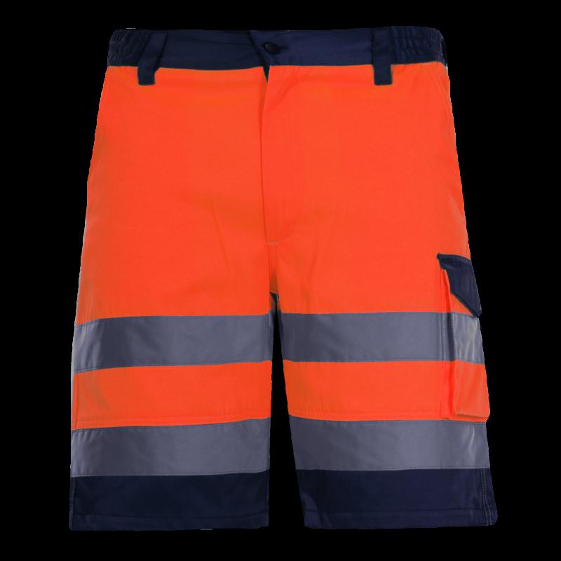 77ecd74bdd02bd Spodenki krótkie ostrzegawcze pomarańczowe Lahti Pro L40702. Loading zoom