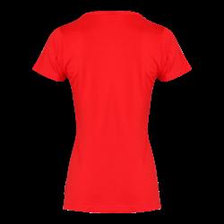 T-shirt koszulka damska czerwona Lahti Pro L40211