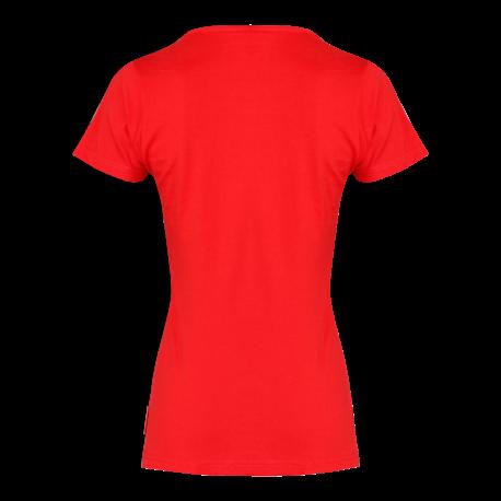 T-shirt woman czerwona Lahti Pro L40211