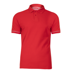 Polo shirt red cotton Lahti Pro L40307