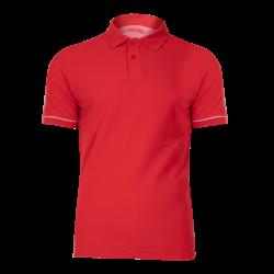 Polo shirt red cotton Lahti Pro L40307