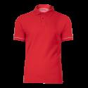 Koszulka Polo czerwona bawełniana Lahti Pro L40307