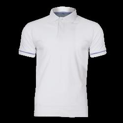 Koszulka Polo biała bawełniana Lahti Pro L40308