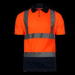 Koszulka polo ostrzegawcza pomarańczowa LahtiPro L40301