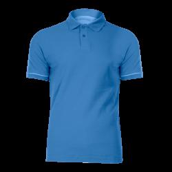 Koszulka polo błękitna bawełna LahtiPro L40304 przód