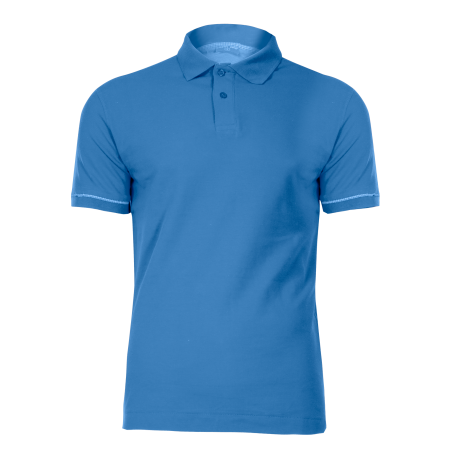 Blue polo shirt cotton LahtiPro L40304