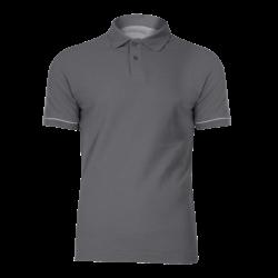 Polo shirt gray cotton LahtiPro L40306
