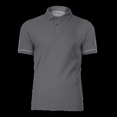 Koszulka polo szara bawełna LahtiPro L40306