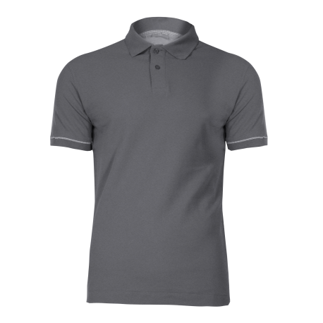 Polo shirt gray cotton LahtiPro L40306