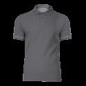 Koszulka Polo szara bawełniana Lahti Pro L40306