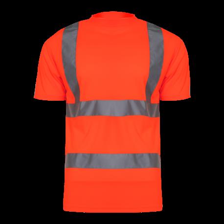 Koszulka t-shirt ostrzegawcza pomarańczowa LahtiPro L40207