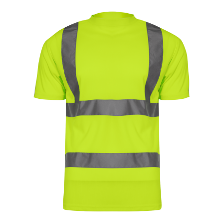 Hight visibility t-shirts yellow LahtiPro L40208
