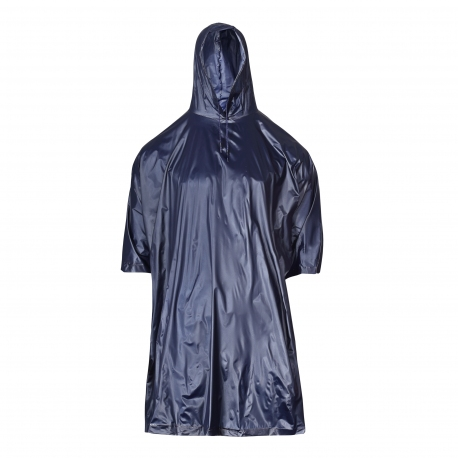 Poncho Hooded poncho blue LahtiPro