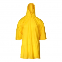 Poncho Hooded poncho yellow LahtiPro