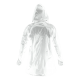 Raincoat with a hood transparent size fits Lahti ProRaincoat with a hood transparent size fits Lahti Pro