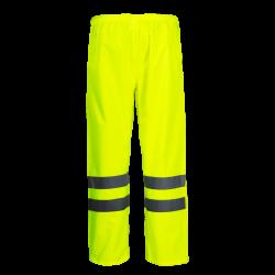 Spodnie przeciwdeszczowe ostrzegawcze żółte Lahti Pro L41008