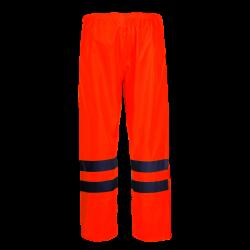 Spodnie przeciwdeszczowe ostrzegawcze pomarańczowe Lahti Pro L41009