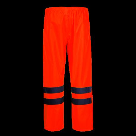 Spodnie przeciwdeszczowe ostrzegawcza pomarańczowe Lahti Pro L41009