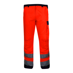 Hight visibility trousers orange premium LahtiPro L41005