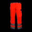Spodnie ostrzegawcze do pasa pomarańczowe premium LahtiPro L41005