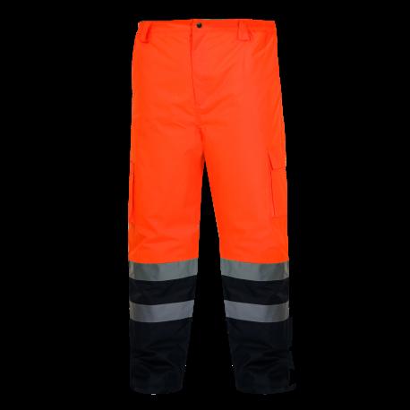 Zimowe spodnie ostrzegawcze pomarańczowe LahtiPro L41001